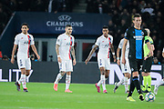 MAURO ICARDI (PSG) scored a goal, celebration, during the UEFA Champions League, Group A football match between Paris Saint-Germain and Club Brugge on November 6, 2019 at Parc des Princes stadium in Paris, France - Photo Stephane Allaman / ProSportsImages / DPPI