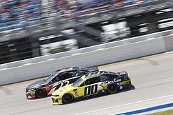 July 1, 2018 - Joliet, Illinois, United States of America - Landon Cassill (00) battles for position during the Overton's 400 at Chicagoland Speedway in Joliet, Illinois  (Credit Image: © Justin R. Noe Asp Inc/ASP via ZUMA Wire)