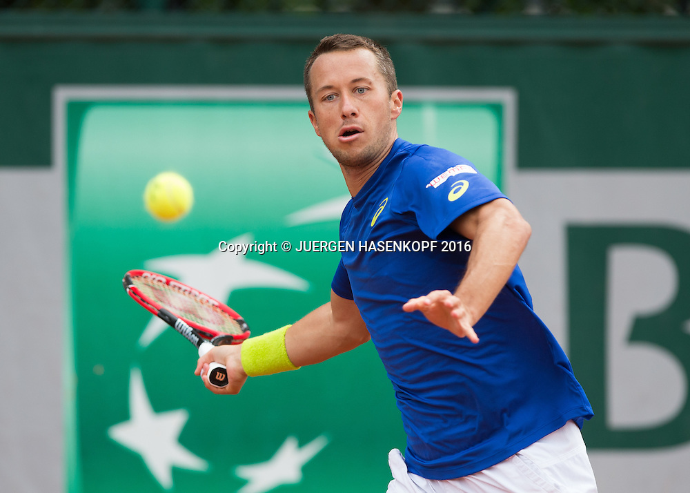 Philipp Kohlschreiber (GER)<br /> <br /> Tennis - French Open 2016 - Grand Slam ITF / ATP / WTA -  Roland Garros - Paris -  - France  - 24 May 2016.