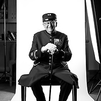 Arthur &quot;Skippy&quot; Teasdale<br /> May 1948-1950 RAF<br /> 1952-1959 Army<br /> 1st Battalion<br /> Light Infantry<br /> Battalion Signal<br /> Sergeant Major<br /> Cypress, Korean War<br /> <br /> Veterans Portrait Project<br /> Royal Hospital Chelsea<br /> Chelsea London, UK