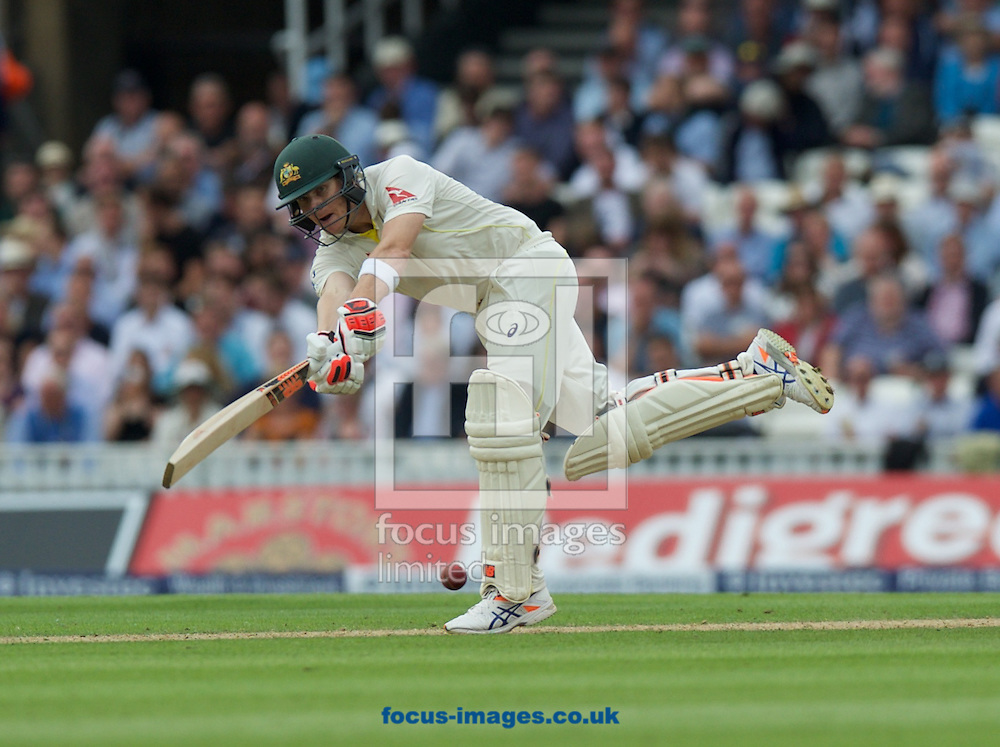 Steven Smith of Australia batting during the 5th Investec Ashes Test Match match at the Kia Oval, London<br /> Picture by Alan Stanford/Focus Images Ltd +44 7915 056117<br /> 20/08/2015