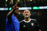 m_s and Fabien Barthez (France 98) during the 2018 Friendly Game football match between France 98 and FIFA 98 on June 12, 2018 at U Arena in Nanterre near Paris, France - Photo Stephane Allaman / ProSportsImages / DPPI