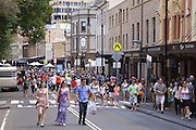 Australians celebrate Australia Day at The Rocks, Sydney, Australia..26th Jan 2013