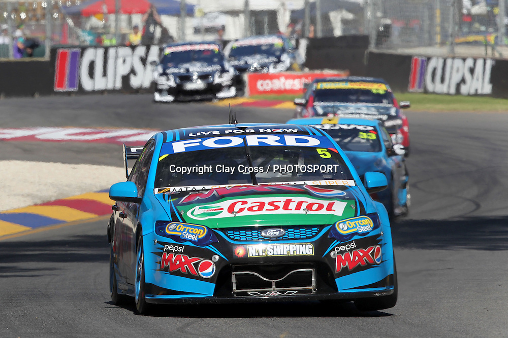 Mark Winterbottom (Ford Pepsi Max Crew). 2014 Clipsal 500 Adelaide ~ V8 Supercar Series Race 1 held on the Adelaide Parklands Circuit, South Australia on Saturday 1 March 2014. Photo: Clay Cross / photosport.co.nz
