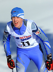 Slovenian cross-country skier Anze Trampus at 10th OPA - Continental Cup 2008-2009, on January 17, 2009, in Rogla, Slovenia.  (Photo by Vid Ponikvar / Sportida)