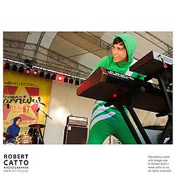 So So Modern at the Go Wellington Cuba St Carnival at Cuba St, Wellington, New Zealand.