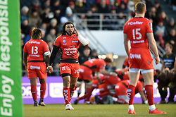 Ma'a Nonu of Toulon - Mandatory byline: Patrick Khachfe/JMP - 07966 386802 - 09/12/2017 - RUGBY UNION - Stade Mayol - Toulon, France - Toulon v Bath Rugby - European Rugby Champions Cup