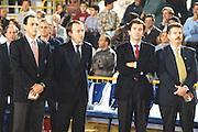 Qualif. Campionato Europeo Benevento 1994 Italia-Ungheria<br /> ettore messina claudio silvestri, piccin
