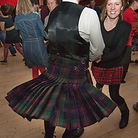 London January 25 Fuelled by haggis and whisky, revellers around the world will tonight pay tribute to Robert Burns's life, work and love of Scotland. (Marco Secchi /XianPix)