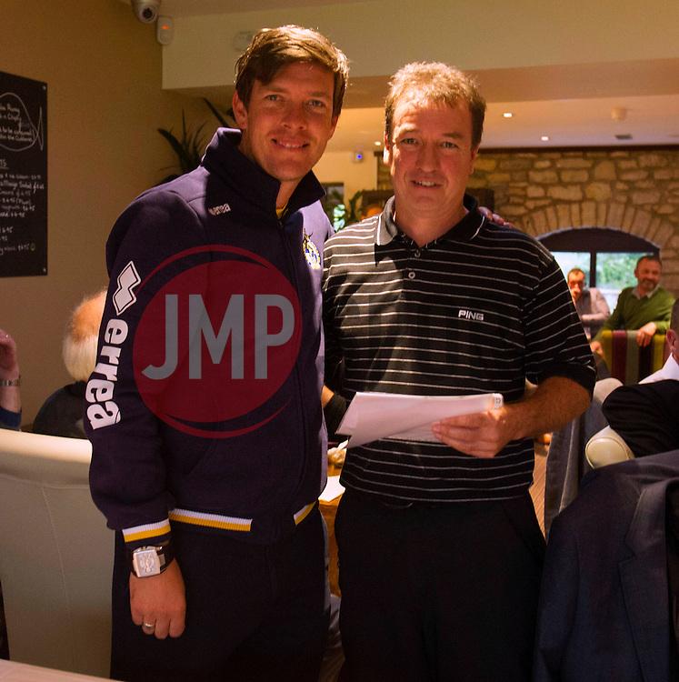 - Photo mandatory by-line: Dougie Allward/JMP - Mobile: 07966 386802 - 13/10/2014 - SPORT - Bristol - Farrington Park - Bristol Rovers Golf Day