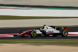 March 9, 2018 - Barcelona, Catalonia, Spain - 08 Romain Grosjean from France Haas F1 Team VF-18 Ferrari during day four of F1 Winter Testing at Circuit de Catalunya on March 9, 2018 in Montmelo, Spain. (Credit Image: © Xavier Bonilla/NurPhoto via ZUMA Press)