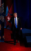 Republican U.S. Presidential candidate Donald Trump makes his entrance at the CNN Town Hall at Riverside Theater in Milwaukee, Wisconsin March 29, 2016. REUTERS/Ben Brewer
