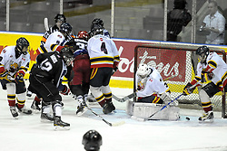 Action from Day 2 at the 2011 OHL Cup at the Hershey Centre in Mississauga, ON on Wednesday March 23, 2011. Photo by Aaron Bell/OHL Images