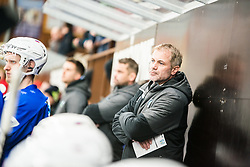 Ivo Janduring during Ice Hockey match between National teams of Slovenia and Belarus at International tournament Euro ice hockey Challenge 2019, on February 9, 2019 in Ice Arena Bled, Slovenia. Photo by Peter Podobnik / Sportida