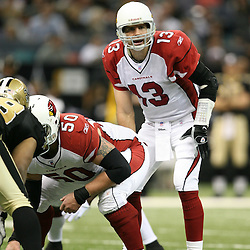 2007 December, 16: Cardinals quarterback Kurt Warner (13) in action during a 31-24 win by the New Orleans Saints over the Arizona Cardinals at the Louisiana Superdome in New Orleans, LA.