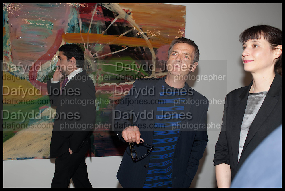 ANDREAS GURSKY;  Frank Cohen and Nicolai Frahm host Julian Schnabel's 'Every Angel has a Dark Side,' private view and party. IN AID OF CHICKENSHED. Dairy Art Centre, 7a Wakefield Street, London. 24 APRIL 2014