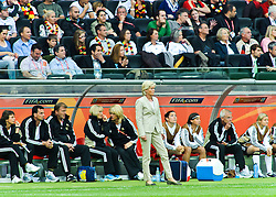30.06.2011, Commerzbank-Arena, Frankfurt, GER, FIFA Women Worldcup 2011, GRUPPE A, Deutschland (GER) vs. Nigeria (NGR) , im Bild Silvia Neid (Trainerin Deutschland) // during the FIFA Women Worldcup 2011, Pool A, Germany vs. Nigeria on 2011/06/30, Commerzbank-Arena, Frankfurt, Germany. EXPA Pictures © 2011, PhotoCredit: EXPA/ nph/  Roth       ****** out of GER / CRO  / BEL ******