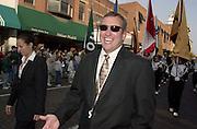 16700Homecoming Parade: Marching 110: Students:Fall 2004...Marching 110 Dirrector Dr. Richard Suk