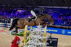 Vermeiren Jan, BEL, Mr Uno-K van't Kattenheye<br /> Jumping Mechelen 2019<br /> © Hippo Foto - Dirk Caremans<br />  27/12/2019