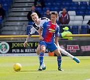 Inverness&rsquo; Danny Williams and Dundee&rsquo;s Kevin Holt  - Inverness Caledonian Thistle  v Dundee, Ladbrokes Scottish Premiership at Caledonian Stadium <br /> <br />  - &copy; David Young - www.davidyoungphoto.co.uk - email: davidyoungphoto@gmail.com