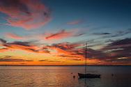 Long Beach Island Bay sunset, LBI, New Jersey