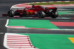March 9, 2018 - Barcelona, Catalonia, Spain - 07 Kimi Raikkonen from Finland Scuderia Ferrari SF71H during day four of F1 Winter Testing at Circuit de Catalunya on March 9, 2018 in Montmelo, Spain. (Credit Image: © Xavier Bonilla/NurPhoto via ZUMA Press)
