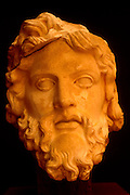 TURKEY, ROMAN CULTURE EPHESUS; Museum; Bust of the God Zeus from Roman mythology; in the best preserved Roman city