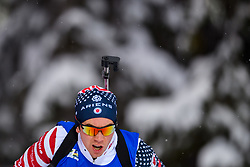 March 9, 2019 - –Stersund, Sweden - 190309 Jake Brown of USA competes in the Men's 10 KM sprint during the IBU World Championships Biathlon on March 9, 2019 in Östersund..Photo: Petter Arvidson / BILDBYRÃ…N / kod PA / 92252 (Credit Image: © Petter Arvidson/Bildbyran via ZUMA Press)