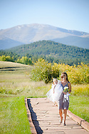 Kevin and Sara Snow are married at the Deer Creek Valley Ranch in Bailey, Colorado on Saturday, Sept. 28, 2013.  Joshua Buck // Joshua & Co. Photography // www.joshuacophotography.com