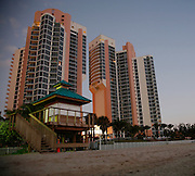 Sunrise at Sunny Isles Beach near Aventura and Ft. Lauderdale, Fl.