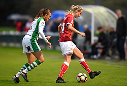 Millie Turner of Bristol City Women in action against Yeovil Town Ladies - Mandatory by-line: Paul Knight/JMP - 30/09/2017 - FOOTBALL - Stoke Gifford Stadium - Bristol, England - Bristol City Women v Yeovil Town Ladies - FA Women's Super League 1