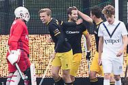 Den Bosch - Den Bosch - Pinoke Heren, Hoofdklasse Hockey Heren, Seizoen 2017-2018, 29-04-2018, Den Bosch - Pinoke 5-1,  doelpunt Austin Smith (Den Bosch)<br /> <br /> (c) Willem Vernes Fotografie