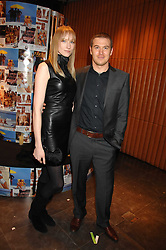 Model JADE PARFITT and TOBY BURGESS at a party hosted by Mulberry to celebrate the publication of The Meaning of Sunglasses by Hadley Freeman held at Mulberry 41-42 New Bond Street, London on 14th February 2008.<br />