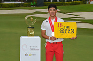 Co-runner up Keita NAKAJIMA (JPN) following Rd 4 of the Asia-Pacific Amateur Championship, Sentosa Golf Club, Singapore. 10/7/2018.<br /> Picture: Golffile | Ken Murray<br /> <br /> <br /> All photo usage must carry mandatory copyright credit (© Golffile | Ken Murray)