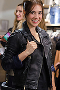 """Cristina brondo at Stradivarius store for the collection """"Fiesta'12 party  in Madrid"""