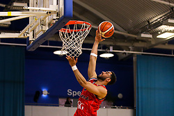 Chris Taylor of Bristol Flyers reaches for the basket - Photo mandatory by-line: Robbie Stephenson/JMP - 29/03/2019 - BASKETBALL - English Institute of Sport - Sheffield, England - Sheffield Sharks v Bristol Flyers - British Basketball League Championship
