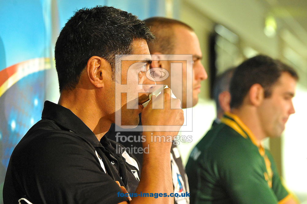 Picture by Ian Wadkins/Focus Images Ltd +44 7877 568959<br /> 27/11/2013<br /> New Zealand coach Stephen Kearney pictured during the Rugby League World Cup Final 2013 Press Conference at Old Trafford, Manchester.