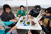Udo, a small Island near Jeju-do. Local delicacy: octopus.