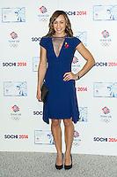 Jessica Ennis-Hill , British Olympic Ball, Dorchester (Opal Room), London UK, 30 October 2013, Photo by Raimondas Kazenas