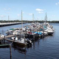 A boat marina in Fruit Cove, along the William Bartram Scenic Highway in Florida.(AP Photo/Alex Menendez) Florida scenic highway photos from the State of Florida. Florida scenic images of the Sunshine State.