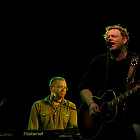 Country music singer Pat Green performs in downtown Knoxville, Tn. in Sept. 2008.