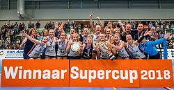 29-09-2018 NED: Supercup Sliedrecht Sport - Eurosped, Sliedrecht<br /> Sliedrecht takes the first price of the new season / Team Sliedrecht celebrate