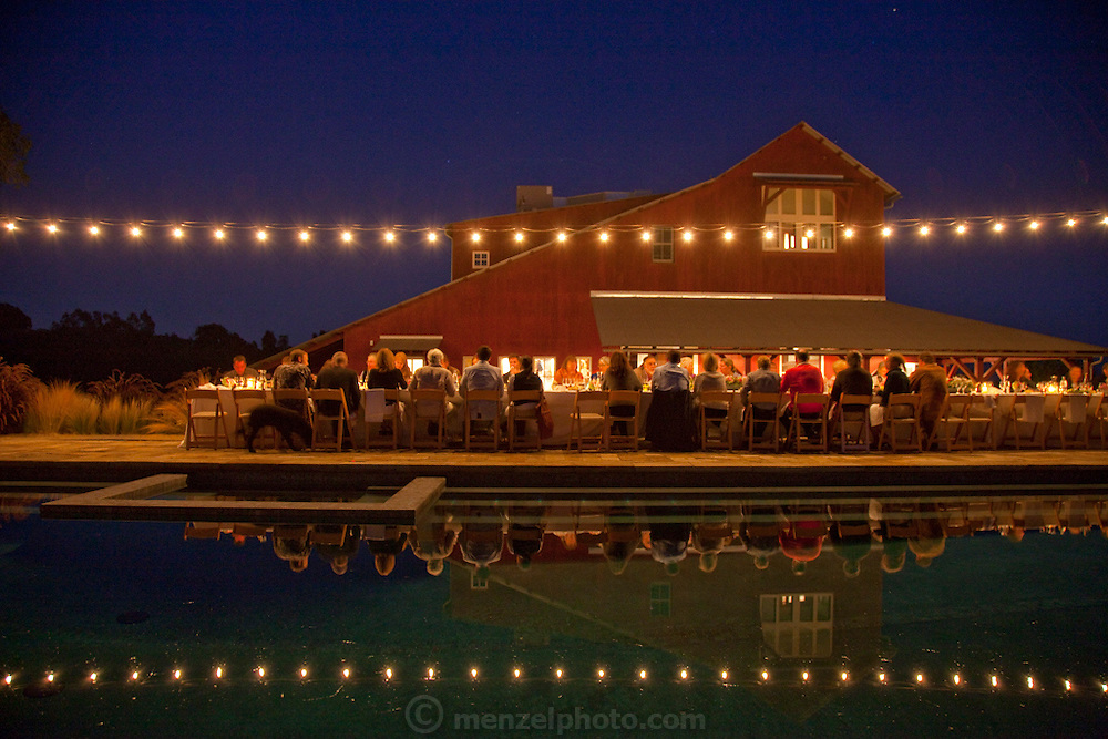 Sinsky annual pig banquet, Napa Valley