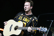 "Dean Sams, Country sensation, ""Lonestar"", performs a special concert for the men and women of the US Army along with the athletes and their families  following the US Army All American Bowl game, 6 Jan 07, Alamodome, San Antonio, TX"