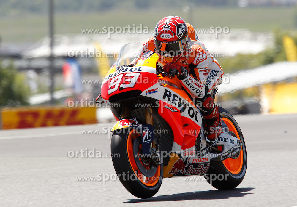 17.05.2015, Circuit, Le Mans, FRA, MotoGP, Grand Prix von Frankreich, im Bild 93 Marc Marquez / Spanien // during the MotoGP Monster Energy France Grand Prix at the Circuit in Le Mans, France on 2015/05/17. EXPA Pictures &copy; 2015, PhotoCredit: EXPA/ Eibner-Pressefoto/ Stiefel<br /> <br /> *****ATTENTION - OUT of GER*****