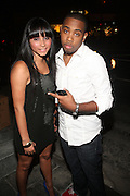 JoJo Simmons and Ayla at Vanessa Simmons' Birthday Celebration held at Su Casa on August 7, 2009 in New York City