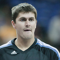 04 October 2010: Minnesota Timberwolves center Darko Milicic #31 is seen prior to the Minnesota Timberwolves 111-92 victory over the Los Angeles Lakers, during 2010 NBA Europe Live, at the O2 Arena in London, England.