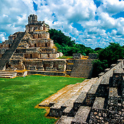 Edzna # 2           Mayan ruins at Edzna, Campeche.