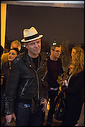 PAUL SIMONON, Private view, Paul Simonon- Wot no Bike, ICA Nash and Brandon Rooms, London. 20 January 2015