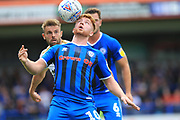 Callum Camps during the EFL Sky Bet League 1 match between Rochdale and Peterborough United at Spotland, Rochdale, England on 11 August 2018.